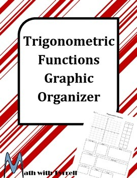 Trigonometric Functions Graphic Organizer