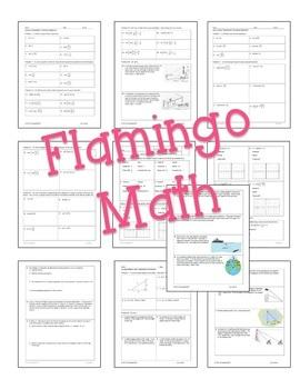 PreCalculus: Trigonometric Functions Homework Bundle