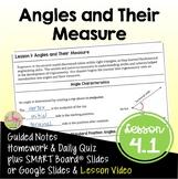 Angles and Their Measure Trigonometry (PreCalculus - Unit 4)