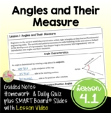 Angles and Their Measure with Lesson Video (Unit 4)