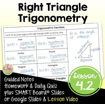 PreCalculus: Right Triangle Trigonometry