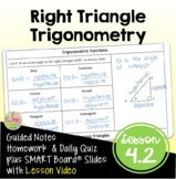 Right Triangle Trigonometry (PreCalculus - Unit 4)