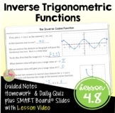 Inverse Trigonometric Functions (PreCalculus - Unit 4)