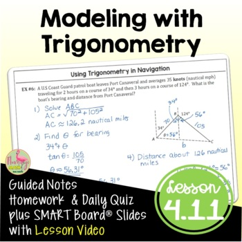 PreCalculus: Solving Problems with Trigonometry