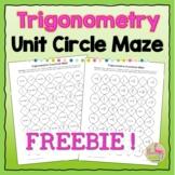 Trigonometric Functions Maze Activity Freebie