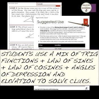Trigonometric Functions Test Prep Quest for Trigonometry
