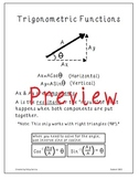 Math & Physics: Trigonometric Functions Poster