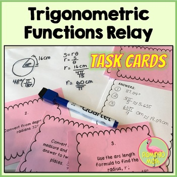 PreCalculus: Trigonometric Functions Relay Activity