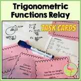 Trigonometric Functions Relay Activity (PreCalculus - Unit 4)