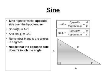 Trigonometric Functions Review