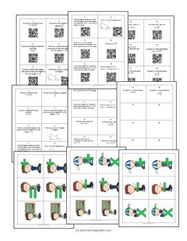 PreCalculus: Trigonometric Functions Activity With QR Codes
