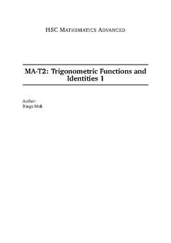 Trigonometric Functions and Identities by Ringo Mok | TpT