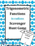 Trigonometric Functions in Degrees Scavenger Hunt Game
