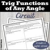 Trigonometric Functions of Any Angle CIRCUIT | DIGITAL and PRINT