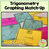 PreCalculus: Trigonometric Graphs Match-Up Activity Task Cards