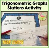 PreCalculus: Trigonometric Graphs Stations Activity