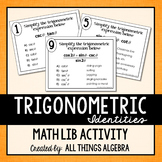 Trigonometric Identities Math Lib