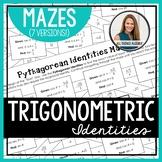Trigonometric Identities Mazes