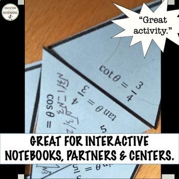 Trigonometric Identities Puzzle Activity