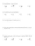 Trigonometric Identities and Trigonometric Equations Unit