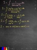 Trigonometric Integral