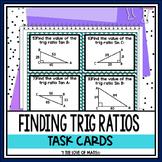 Trigonometric Ratios: 24 Task Cards