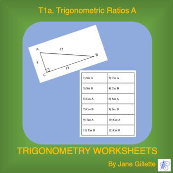 Trigonometric Ratios A