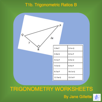 Trigonometric Ratios B