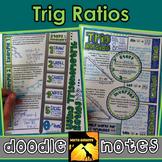 Trigonometric Ratios Doodle Notes