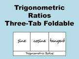 Trigonometric Ratios Foldable