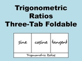 Trigonometric Ratios Foldable