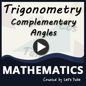 Trigonometric Ratios Of Complementary Angles I Math I Lets tute