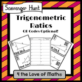 Trigonometric Ratios: Scavenger Hunt *QR Codes Optional!*
