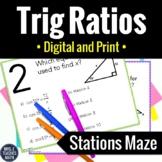 Trig Ratios Activity | Digital and Print