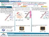 EDI lesson on Trigonometric Ratios and Pythagorean Theorem