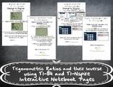 Trigonometric Ratios and their Inverse using a Calculator