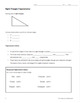 Trigonometric Ratios on the Unit Circle & Solving Triangles PowerPoints&Practice