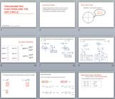 Trigonometric Ratios on the Unit Circle Unit - PowerPoints