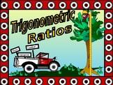 Algebra Power Point Trigonometric Ratios with GUIDED NOTES