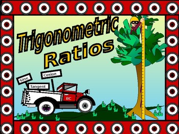 Algebra Power Point Trigonometric Ratios with GUIDED NOTES