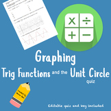 Trigonometric Transformations and Unit Circle Quiz