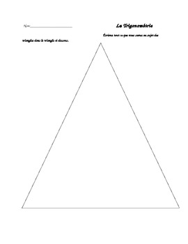 Trigonométrie - activité intro