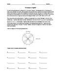 "Trigonometry Activity - ""A Problem in Trigville"""