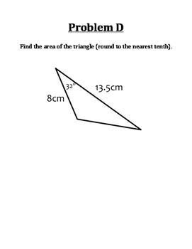 Trigonometry Alphabet Review