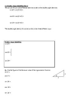 Trigonometry Angle Theorems