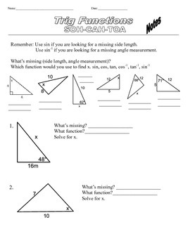 Trigonometry Basic Practice