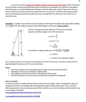 Trigonometry Bundle