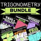 Trigonometry Bundle of Resources