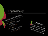 Trigonometry - Compound Angles