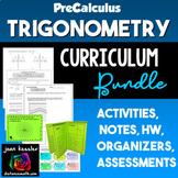 Trigonometry Curriculum Bundle -  PreCalculus